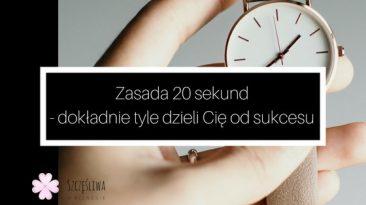 zasada 20 sekund do sukcesu