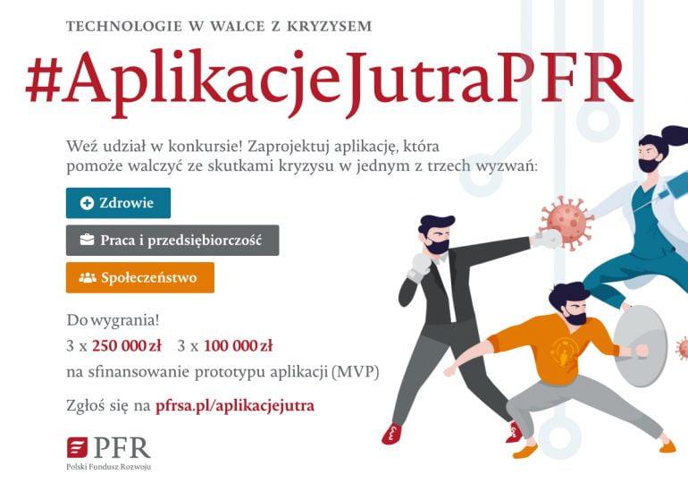 Technologie w walce z kryzysem – PFR nagrodzi najlepsze projekty w konkursie #AplikacjeJutraPFR