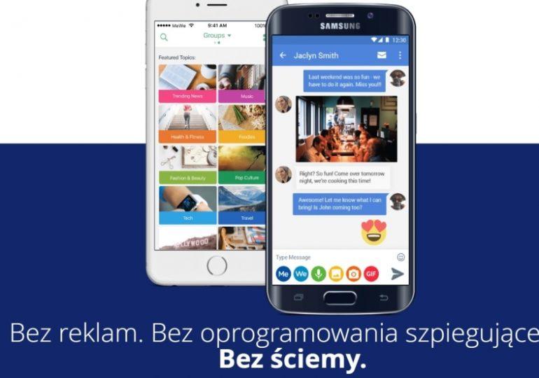 """""""Anty-Facebook"""" wchodzi na polski rynek. Ma 8 mln użytkowników na świecie"""
