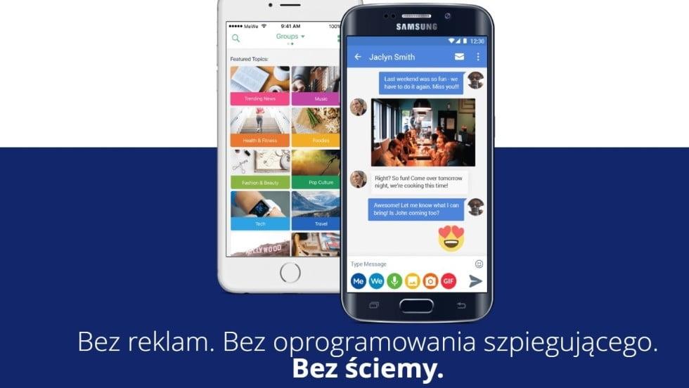 """""""Anty-Facebook"""" wchodzi napolski rynek. Ma 8 mln użytkowników naświecie"""