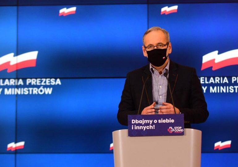 Minister zdrowia: Będę namawiał premiera do całkowitego lockdownu