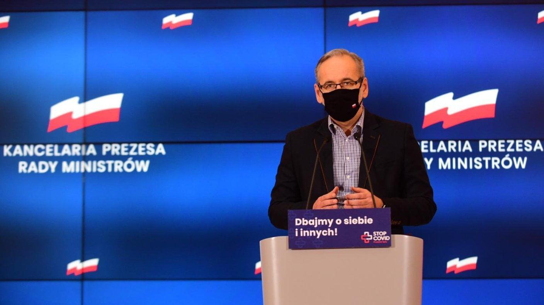 Minister zdrowia: Będę namawiał premiera docałkowitego lockdownu