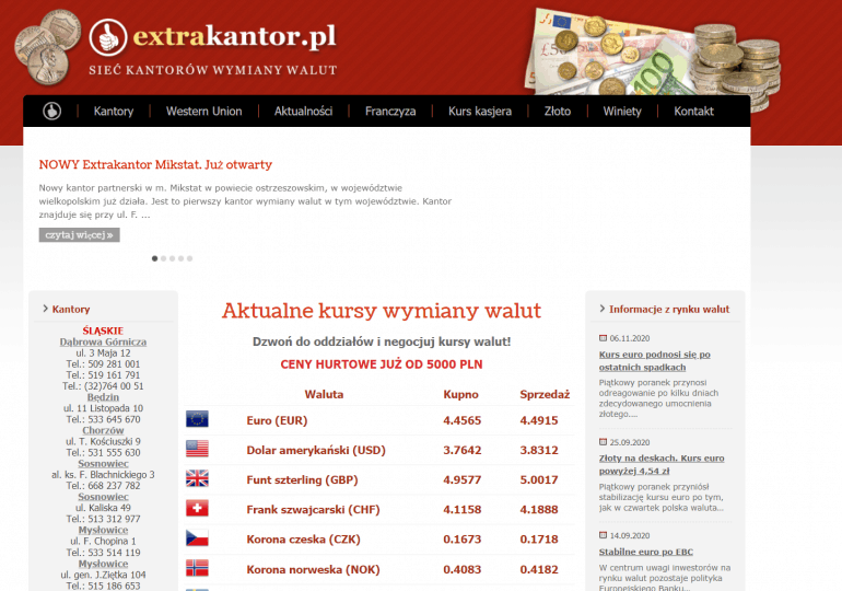 Franczyza Extrakantor.pl