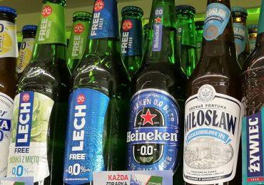 W sklepach widać coraz więcej promocji piwa bezalkoholowego. Wzrosty są nawet na poziomie 30%