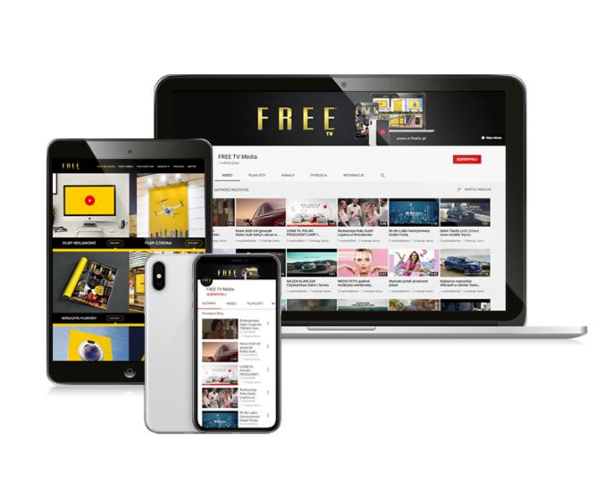 Franczyza Agencja Medialna FREE TV Filmy Reklamowe