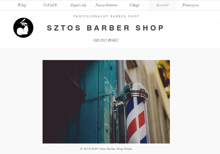 Franczyza Sztos Barber Shop
