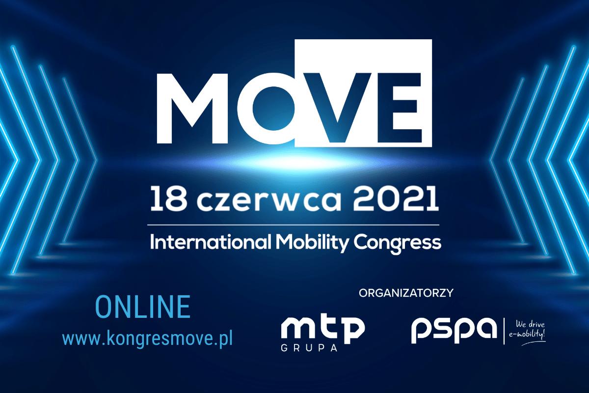Jak będzie wyglądać polska elektromobilność? Odpowiedzi poszukamy naKongresie MOVE 2021