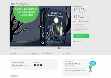 Klasyka polskiej literatury w krzywym zwierciadle – kampania crowdfundingowa